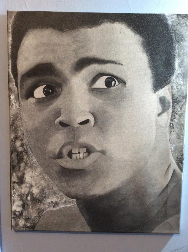 Muhammad Ali by paddysauce